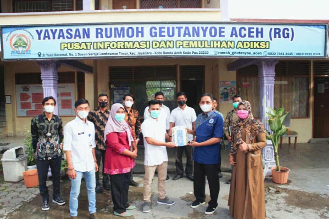 Sambut Hani Kepala Bnn Kota Banda Aceh Kunjungi Pusat Rehabilitasi Rumoh Geutanyoe